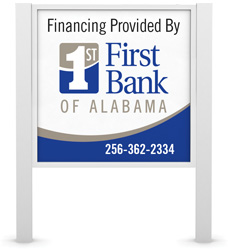 Financing Provided By First Bank of Alabama